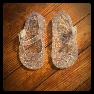 Jelly Shoes for baby!